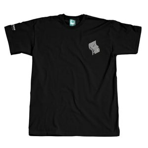Image of MONTANA CANS SHIRT FRESH PAINT BLACK GREY