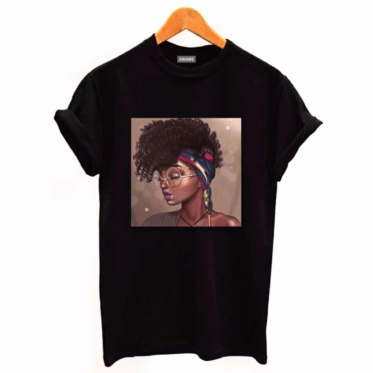 Image of AFRO PUFF T-SHIRT