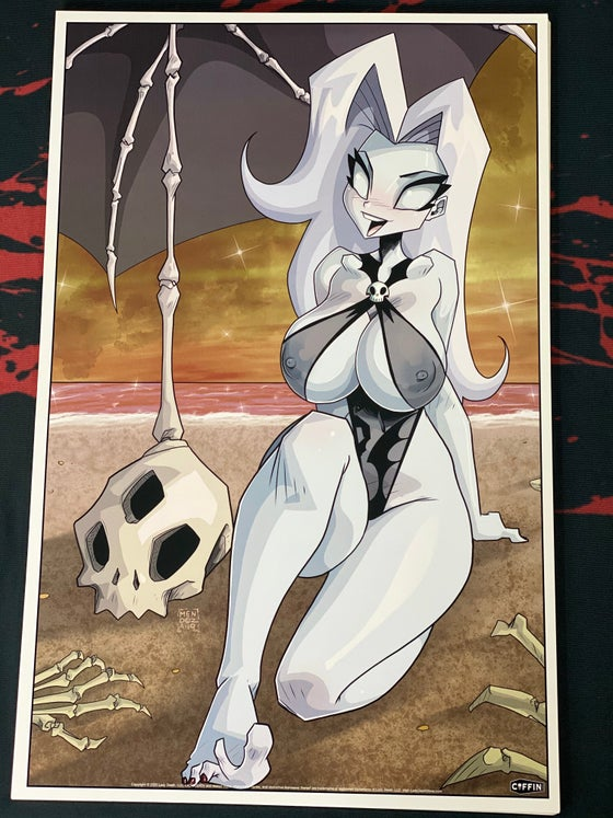 Image of PRINT Lady Death