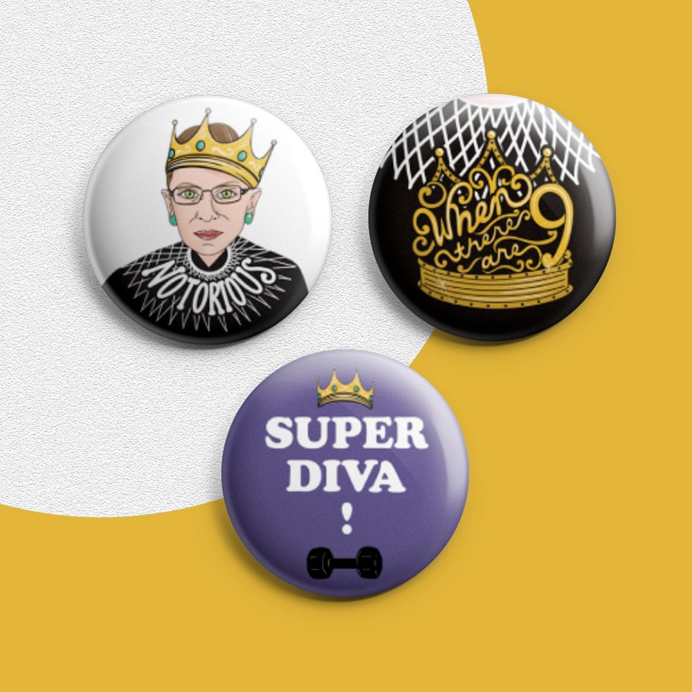Image of RBG Pin Set