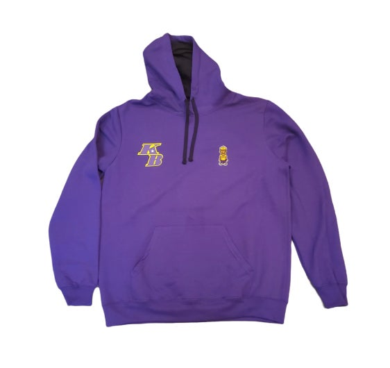 "Purple/Yellow ""Lakers"" Character Hoodie"