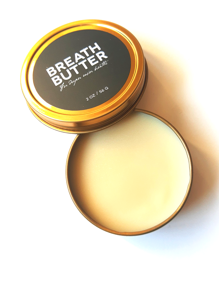 Image of BREATH BUTTER - For deeper easier breaths
