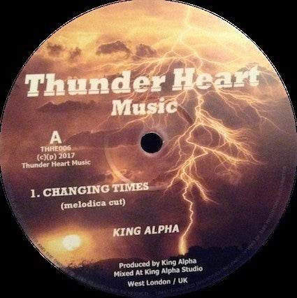King Alpha ‎– Changing Times (melodica cut)