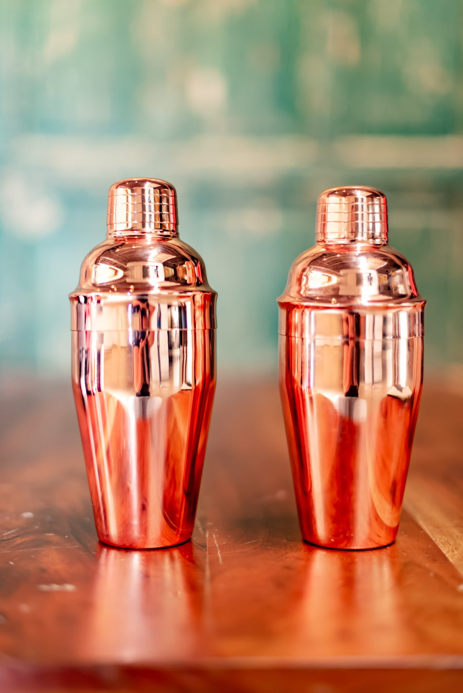 Image of Rose gold cocktail shaker by Visol!
