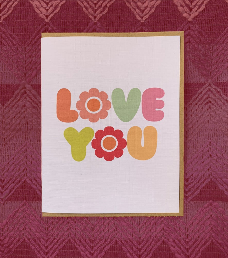 Image of Mod Love You Card