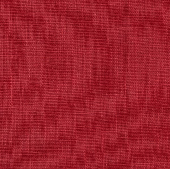 Image of European 100% Washed Linen Red Oak Shade