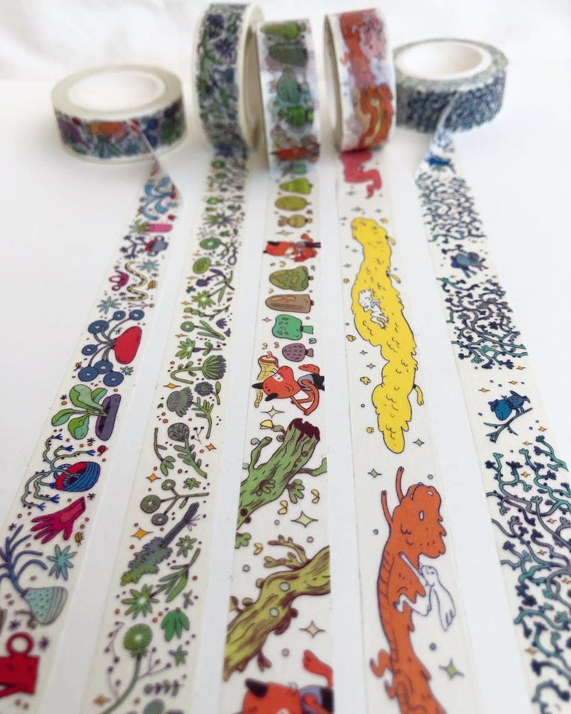 Image of Washi Tape - 5 Different Tapes