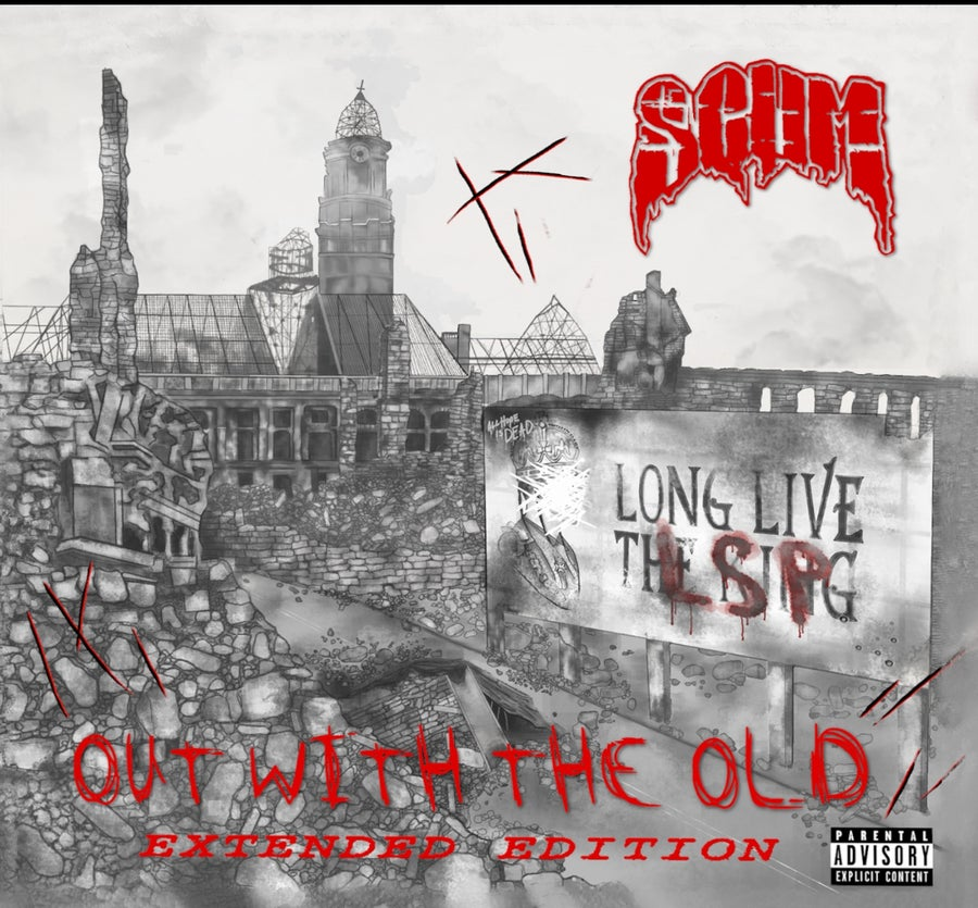 Image of SCUM : OUT WITH THE OLD   DOUBLE DISC