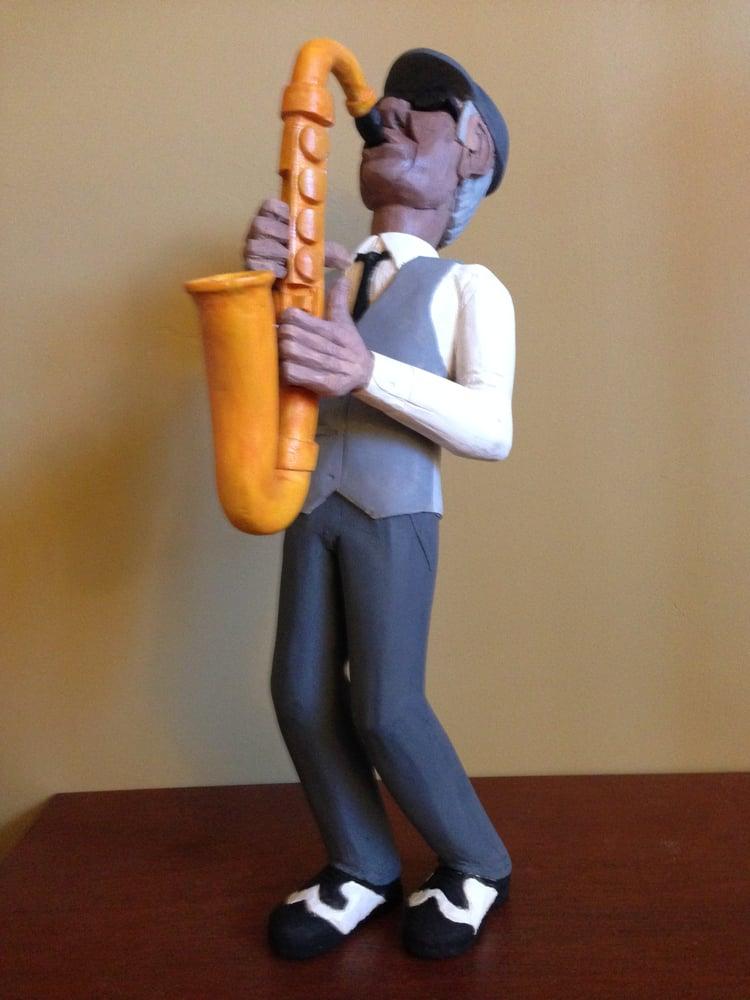 Image of Sax man