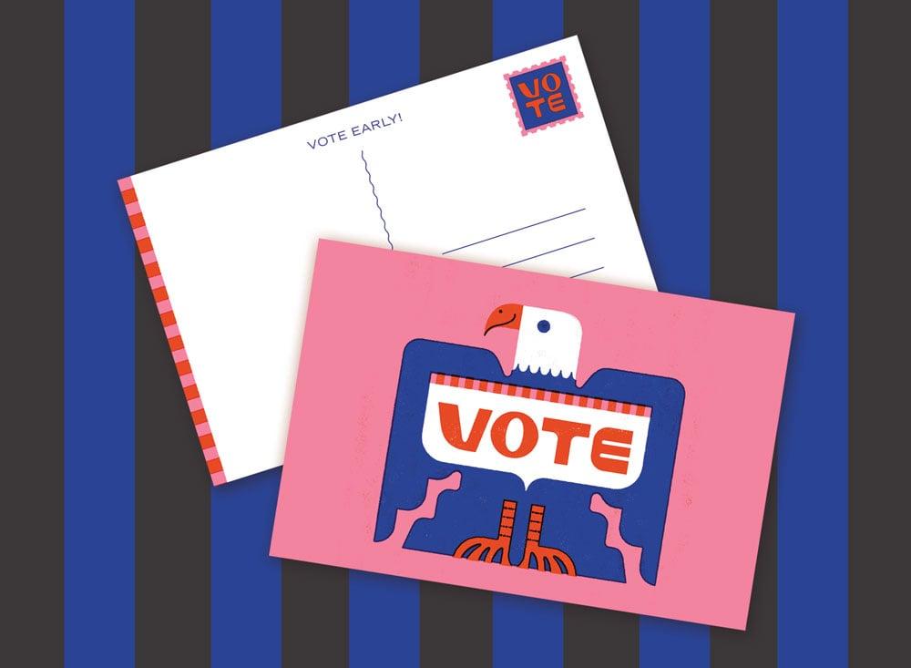 Image of Vote Postcard