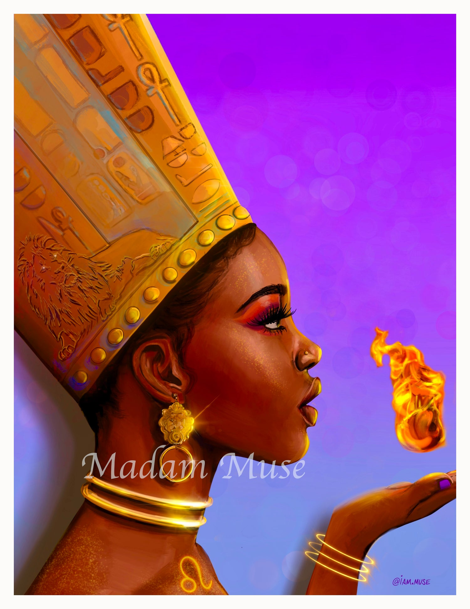 "Image of ""Queen Leo"" Limited Edition Prints"