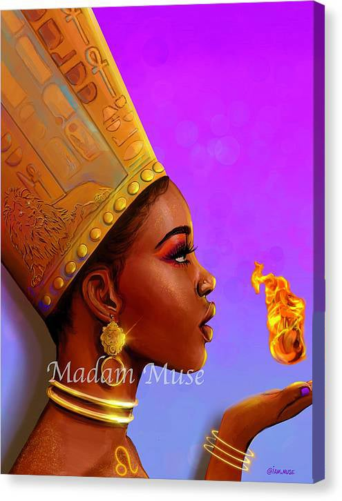 """Image of """"Queen Leo"""" Limited Edition Canvas Prints"""