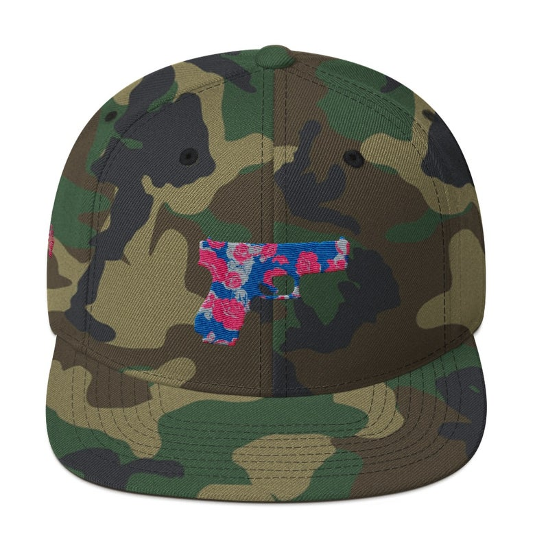 Image of Guns & Roses Camo Hat