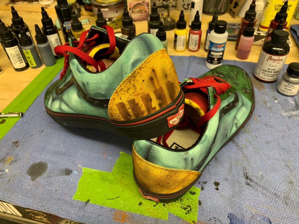 Custom Boba Fett VANS Shoes Size 13