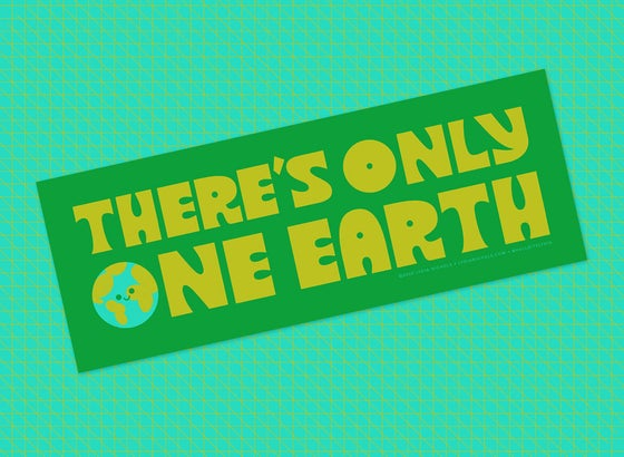 Image of One Earth Bumper Sticker