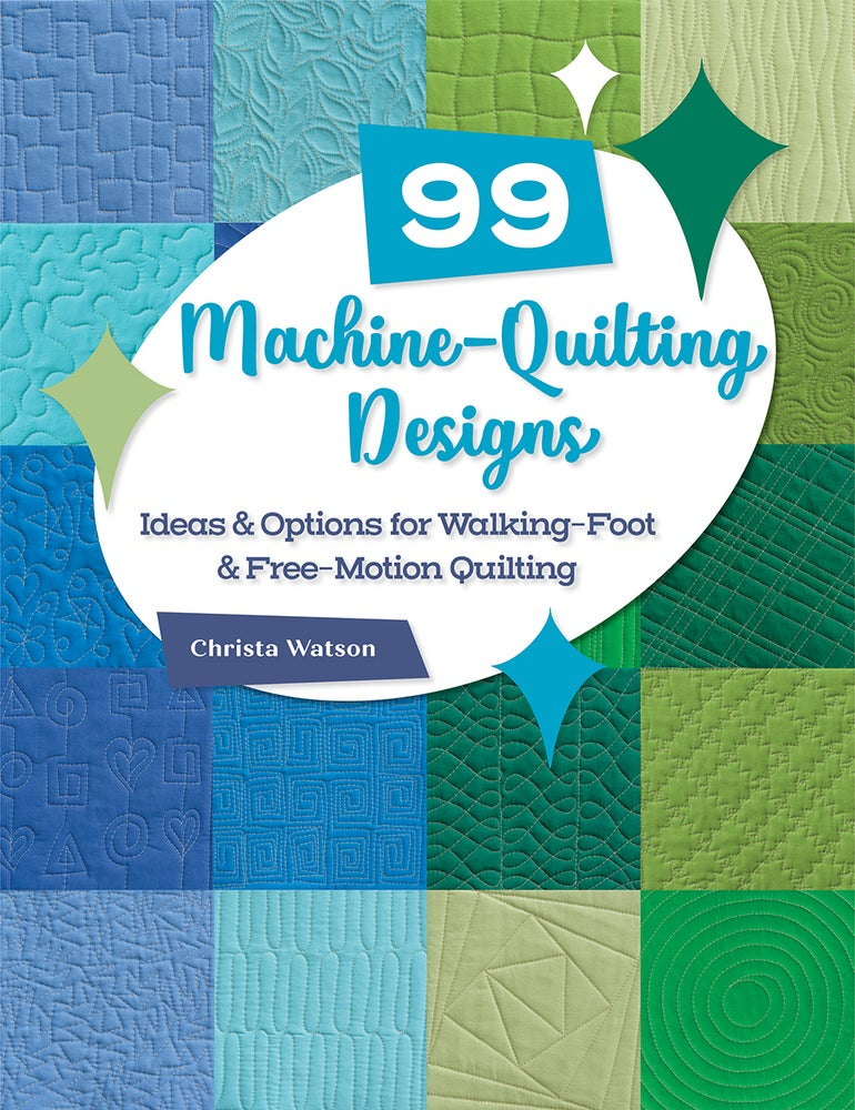 99 Machine Quilting Designs Signed by Christa