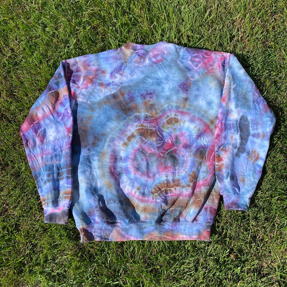 Burple Agate Crew Neck ~ Large