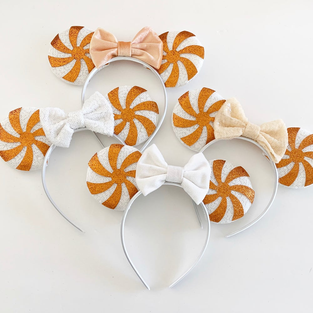 Image of Candy Swirl Halloween Mouse Ears