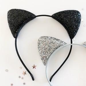 Image of Glitter Kitty Ears