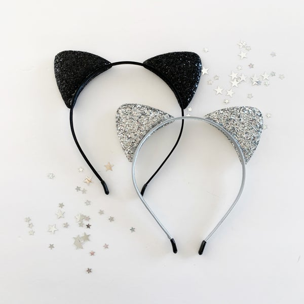 Image of Glitter Kitty Ears