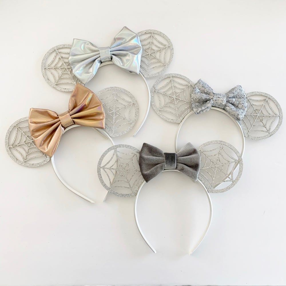 Image of Silver Spiderweb Mouse Ears