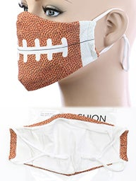 Image of FOOTBALL ADULT FACE MASK