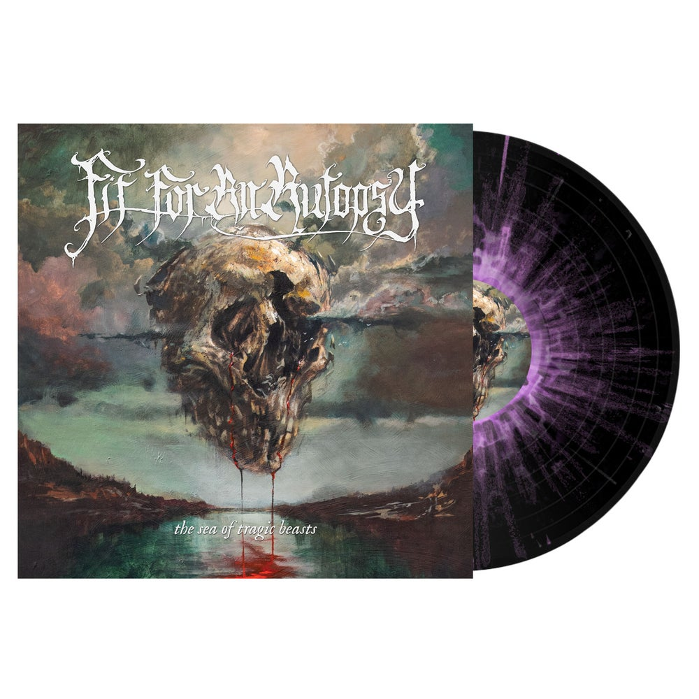 """Image of Fit for an Autopsy """"The Sea of Tragic Beasts""""  Exclusive Colored Vinyl LP Pre-Order"""