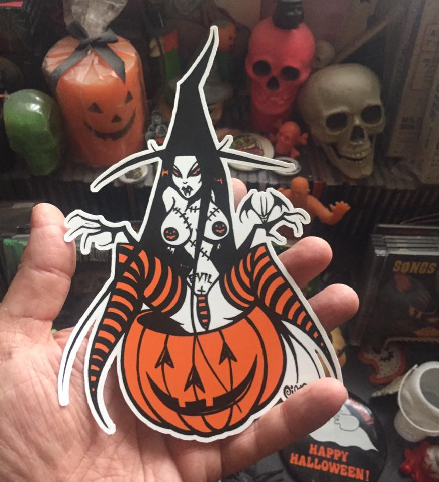 Image of NEW WITCH STICKER
