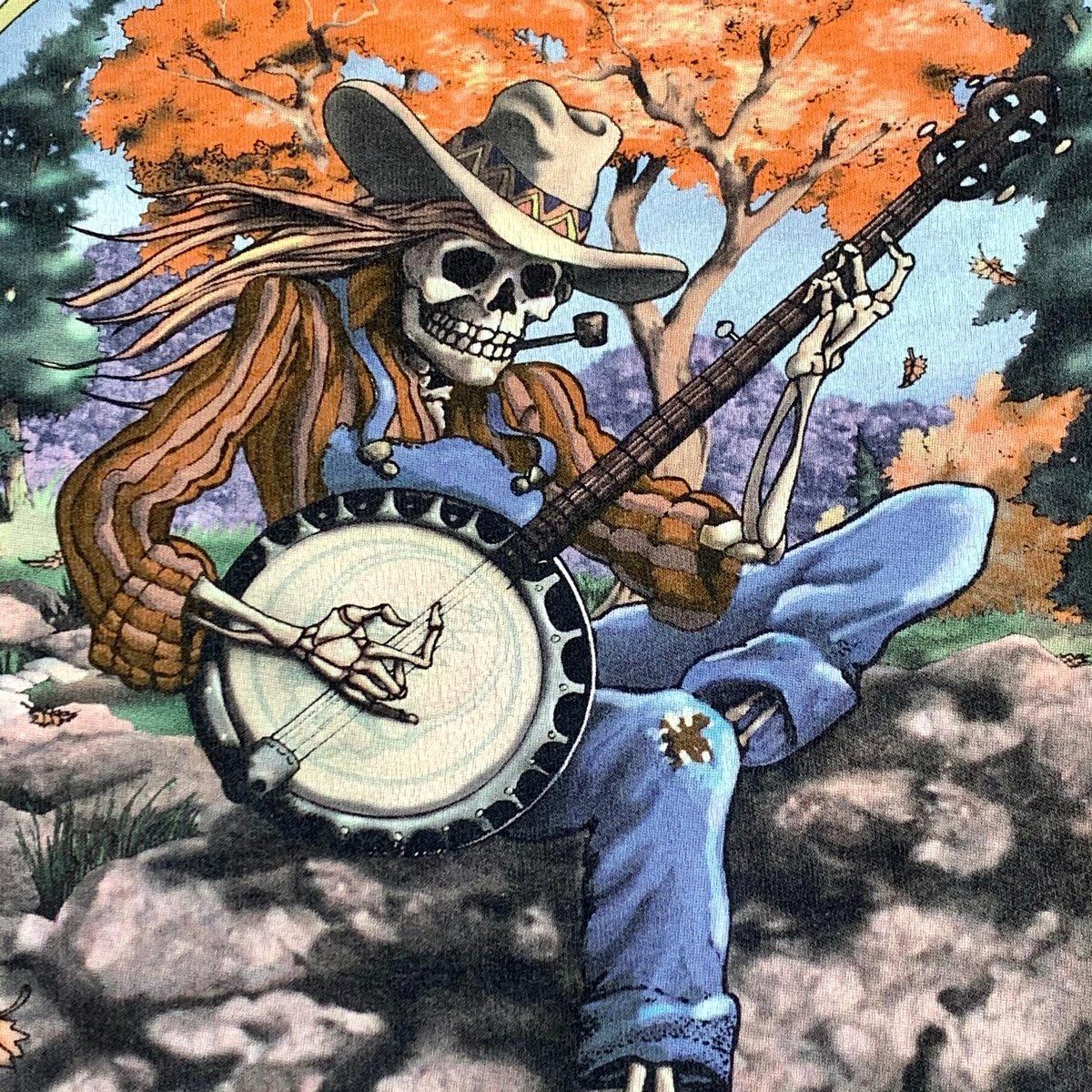 Vintage Grateful Dead Fall Tour 94 Dye! - XL