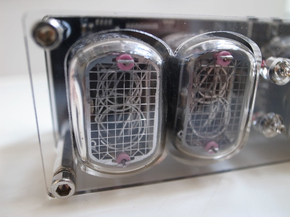 Image of Nixie Clock - clear