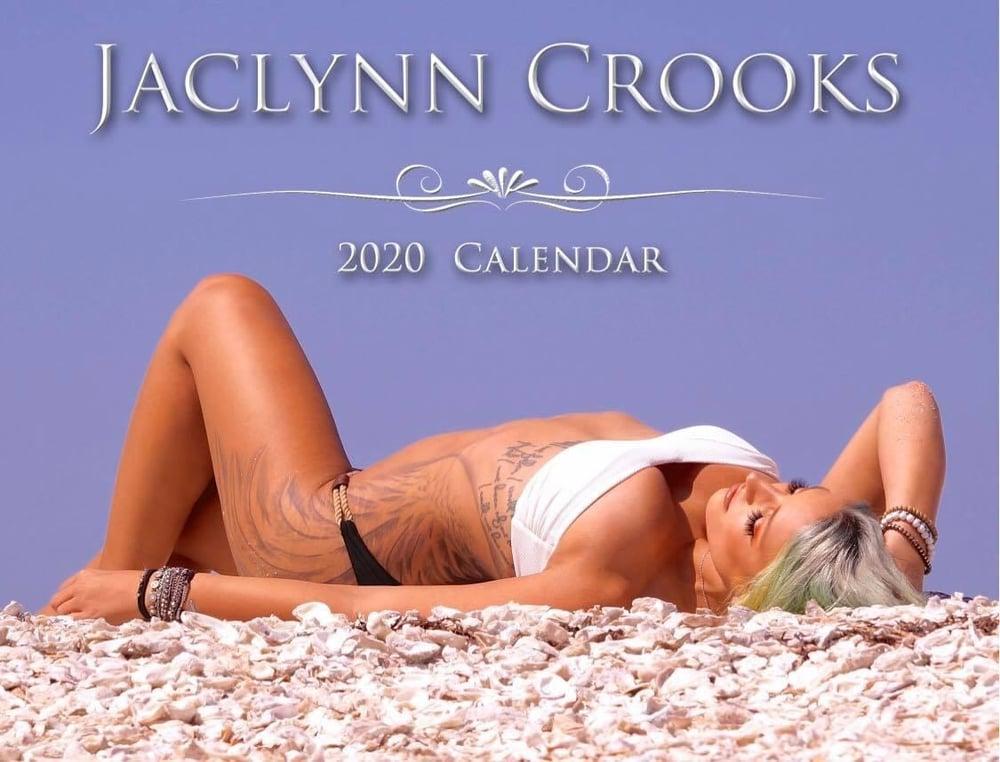 Image of 2020 Jaclynn Crooks Calendar ONLY SIGNED