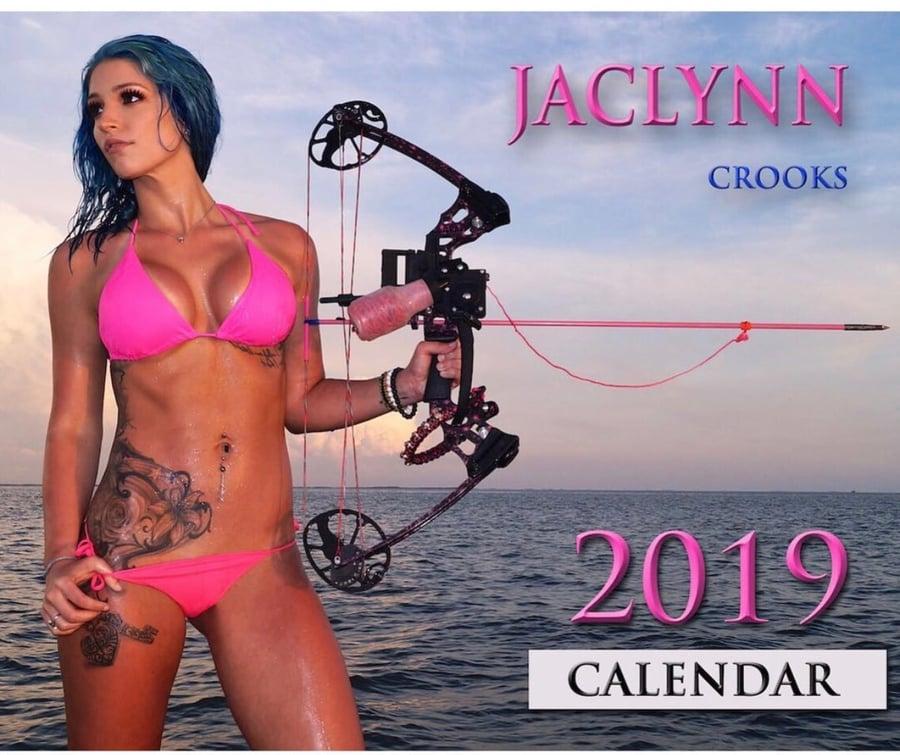 Image of 2019 Jaclynn Crooks ONLY SIGNED calendar