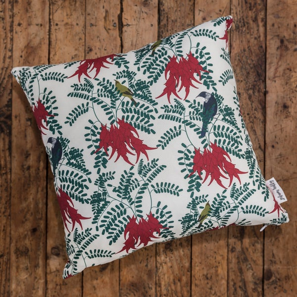 Image of Kākābeak Botanical Cushion Covers