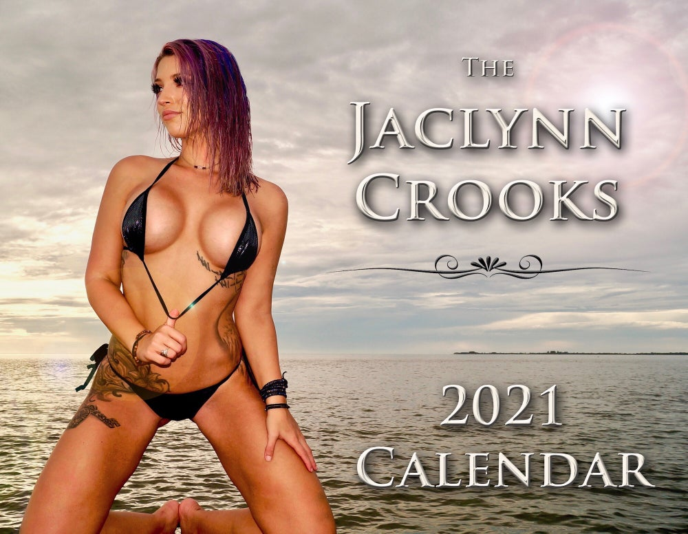Image of PRE-SALE 2021 Signed & Personalized JACLYNN CROOKS Calendars