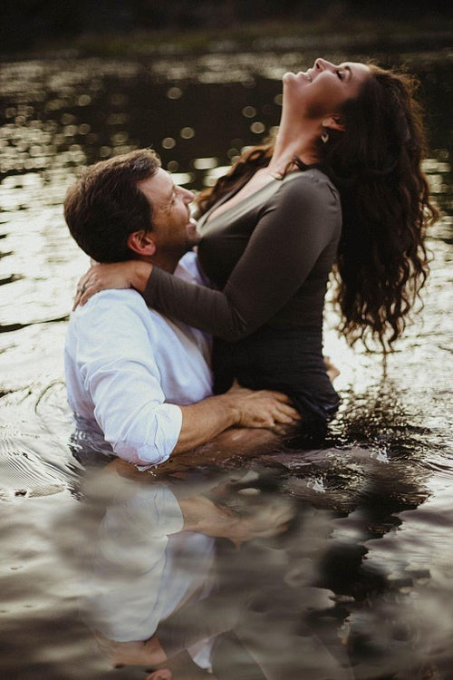Image of Couples River session for A & C