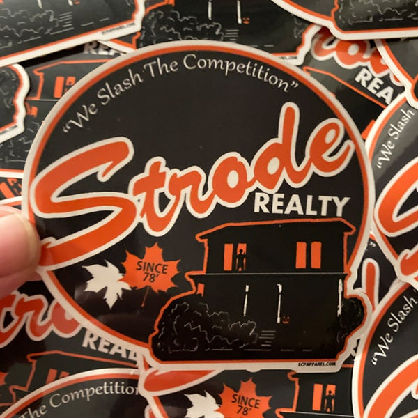 """Strode Realty""-Die-cut Sticker"