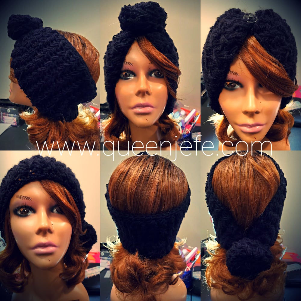 Image of Wrap Queen Partial- Top Knot