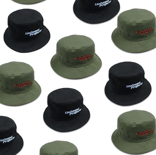 Image of Unfound projects adjustable bucket hat
