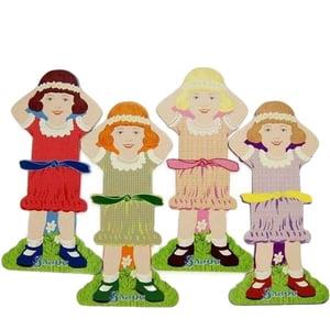 Image of Sajou Little Gils Thread Cards