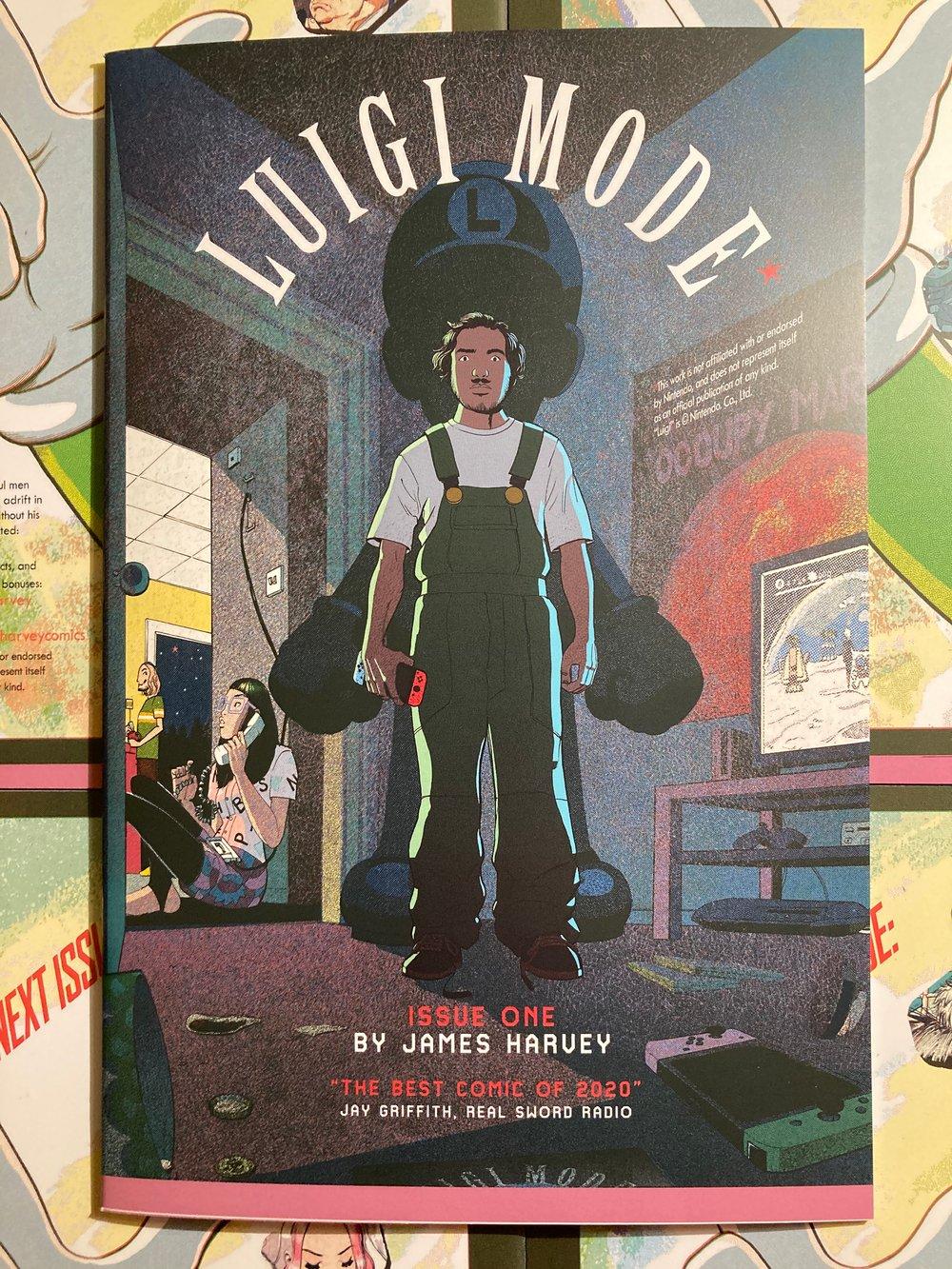 Luigi Mode Part 1. Second Printing (24PP)