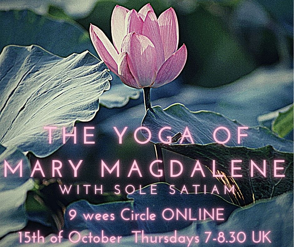 Image of The Yoga of Mary Magdalene- 9 weeks Programme