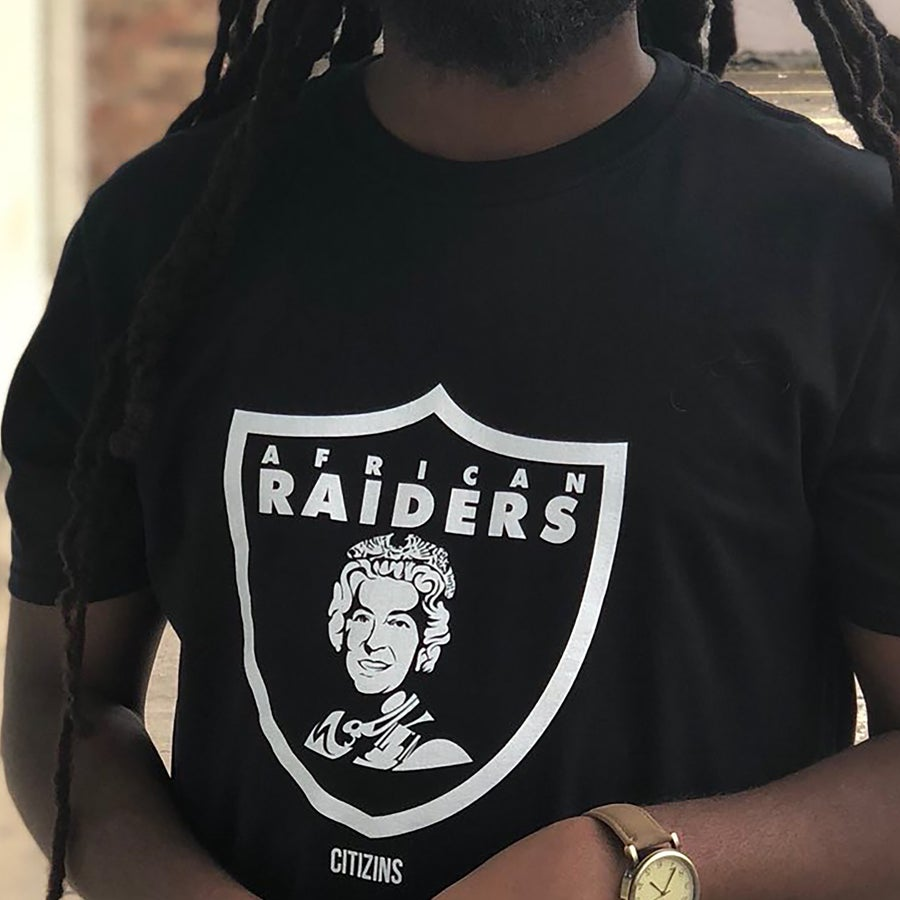 Image of AFRICAN RAIDERS | T-SHIRT, SWEATER, & HAT