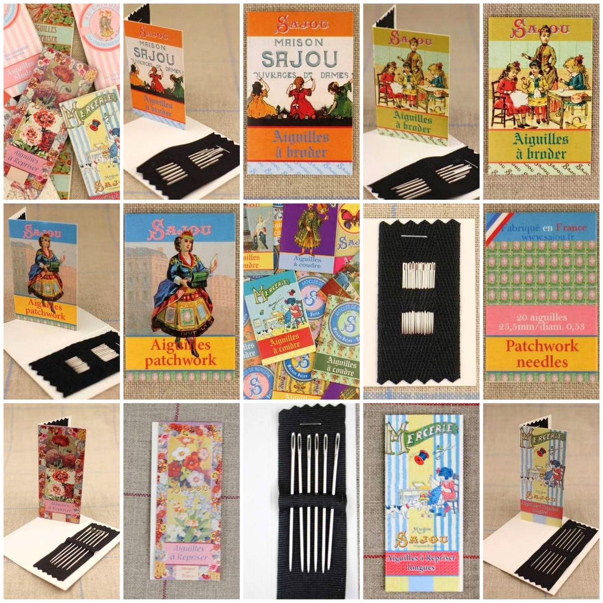 Image of Sajou Small essential needle books