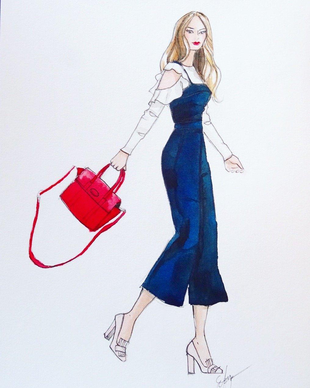 Image of Custom Fashion Illustration