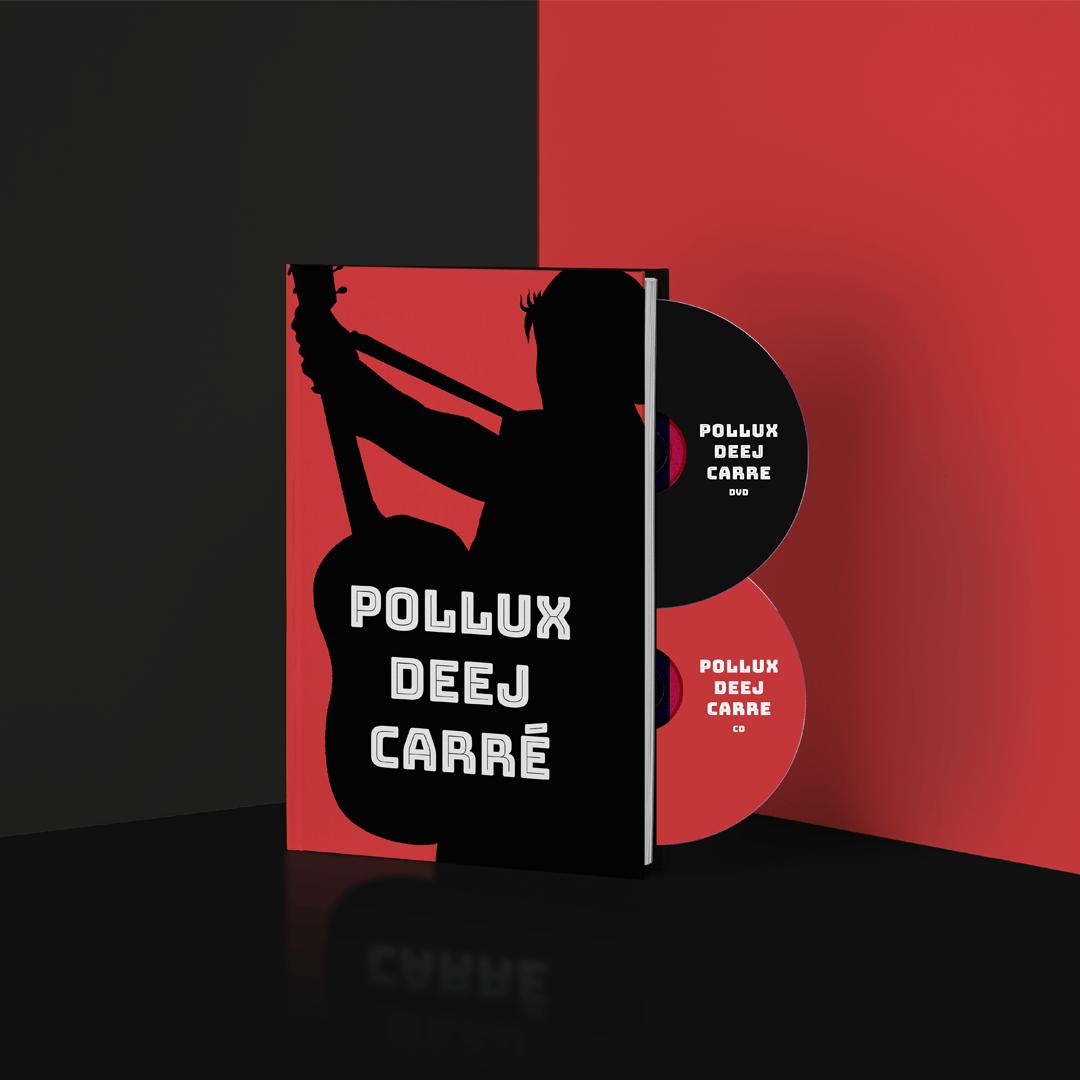 Image of PRE-ORDER Pollux Deej Carré boek + CD + DVD