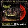 VULVODYNIA - Psychosadistic Design - Red / Black / Yellow Splatter vinyl