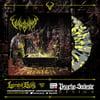 VULVODYNIA - Psychosadistic Design - Transparent / Black / Yellow splatter vinyl