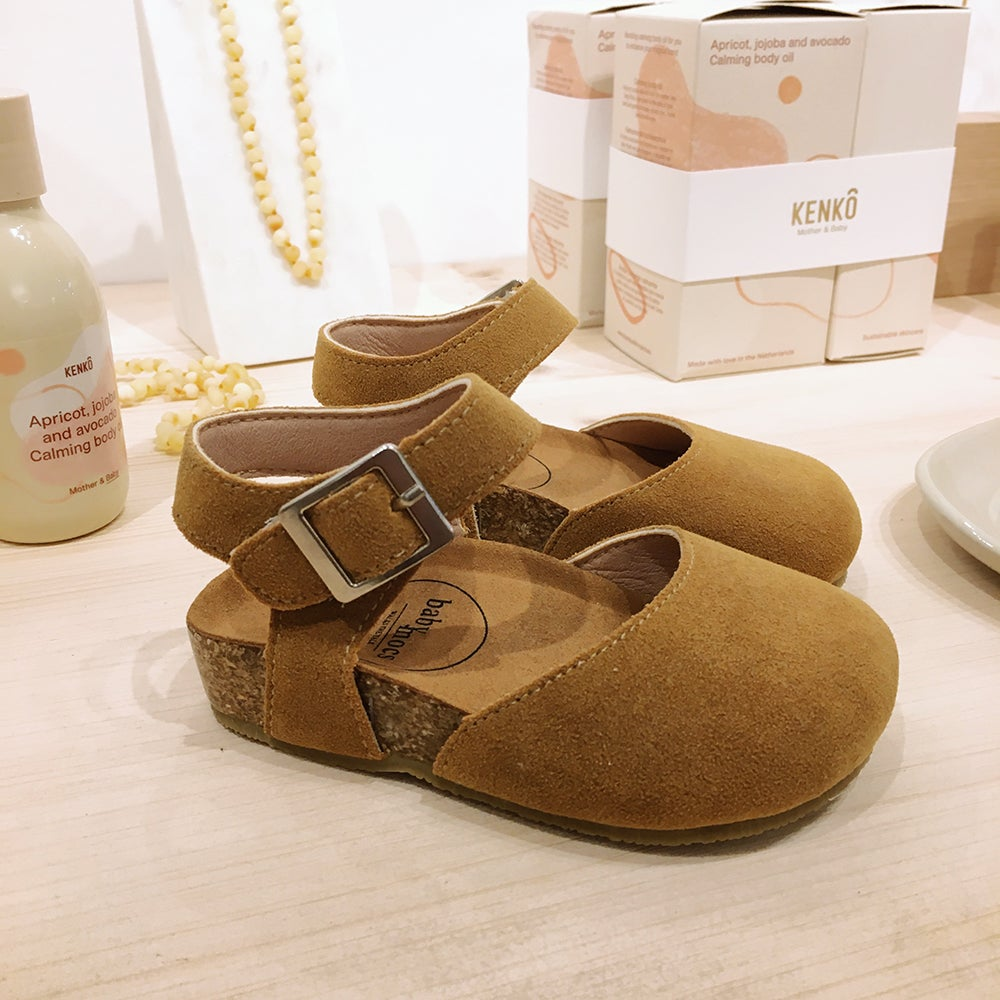 Image of Babymocs Sandals Astrid Mustard