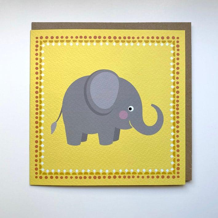 Image of Elephant Card