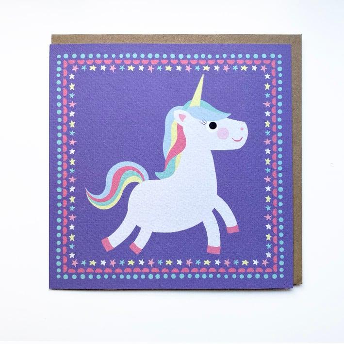 Image of Unicorn Card
